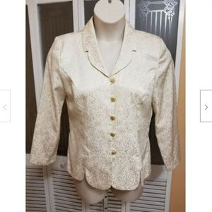 Leslie Fay Ladies Beautiful Blouse